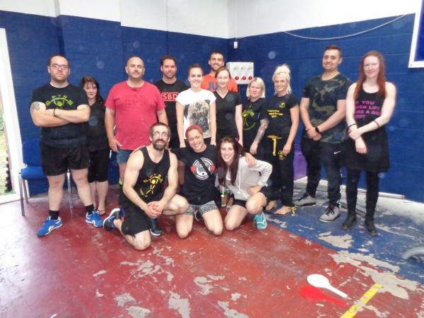 Novice Powerlifting West Midlands Competition