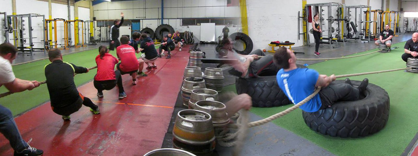 Tug of war & Strongman sessions