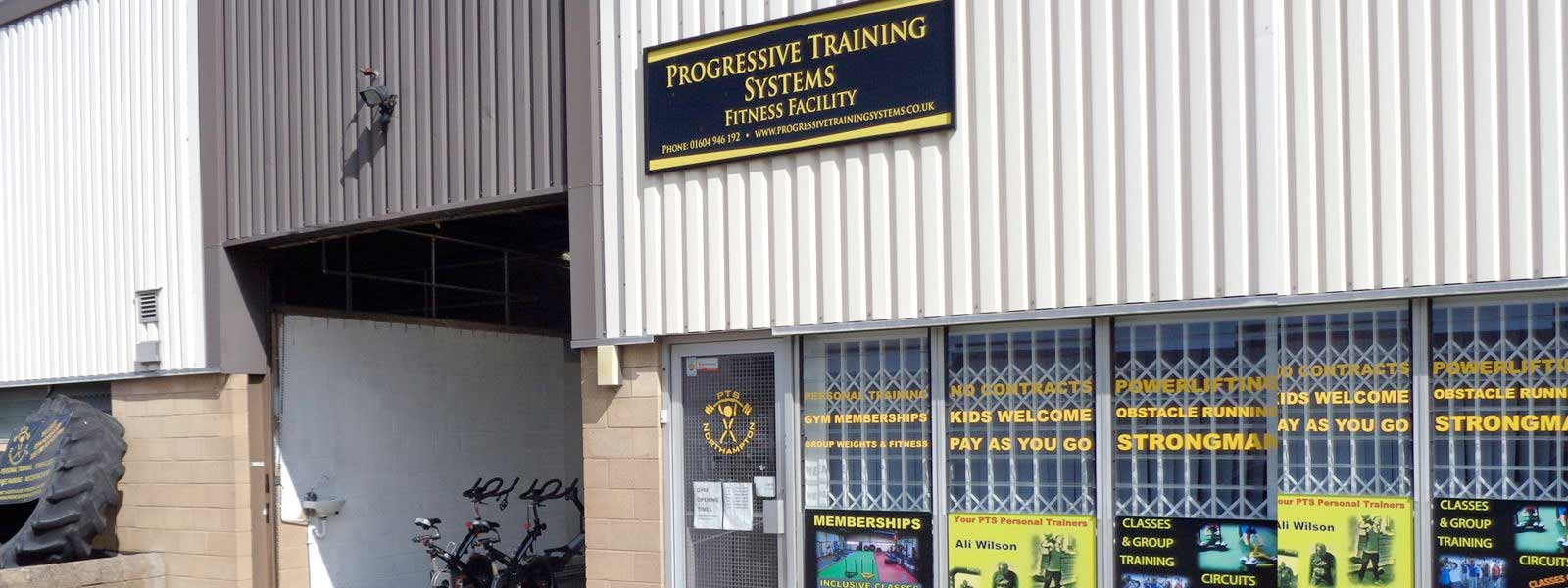Progressive Training Systems Outside