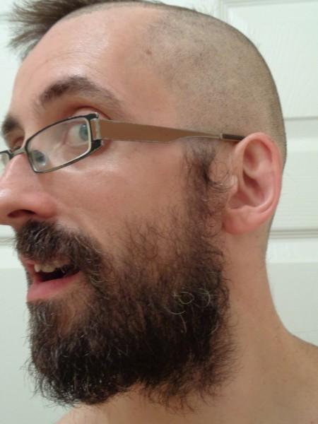 Ali hair Cancer Research Charity Raising 2