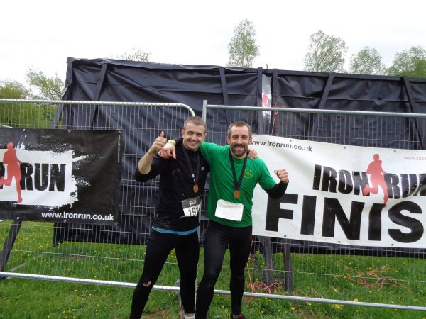 Ali and Roberts Iron Run 14th May 2016