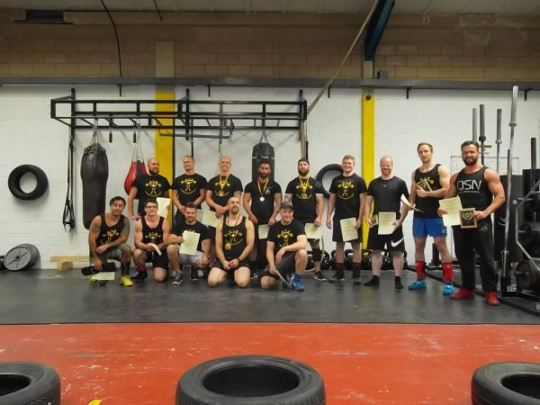 England's Strongest Man U80kg 31st July 2016