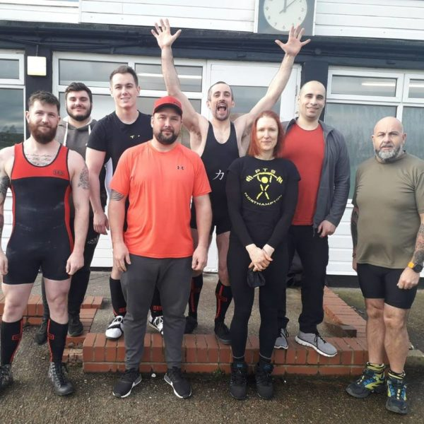 PTS boys powerlifting East Midlands 28th Jan 2018