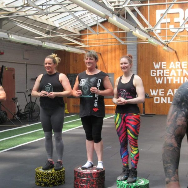 Pj at Britain's Natural Strongest Woman Masters 2019